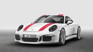 Geneva Motor Show: The new Porsche 911 R