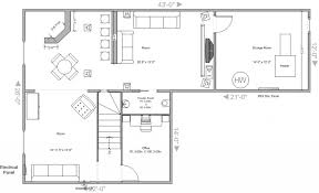 Basement Layout Design Fascinating Basement Floor Plan Pscous