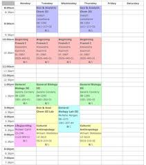 schedule creater schedule maker hosted by rit s own csh