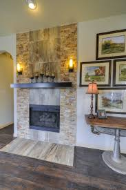 Gray Brick Fireplace Gehan Homes Laurel Fireplace Brown Brick Fireplace With Brown And