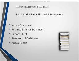 financial statement introduction to financial statements tutorial