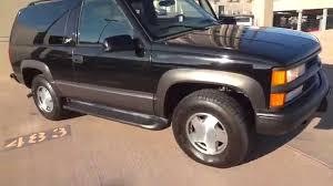 1999 Chevrolet 2 Door Tahoe 4x4 75k Miles 1 Owner Sport Z71 ...