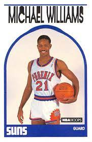 Amazon.com: 1989-90 NBA Hoops #344 Micheal Williams Phoenix Suns UER  Inaugural Hoops Licensed Basketball Trading Card (Stock Photo. Near Mint or  Better): Collectibles & Fine Art