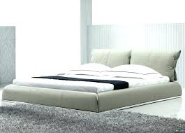 modern platform bed king home contemporary beige leather fade beds mid century donatella baxton studio size pla