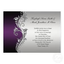 vintage purple black and silver wedding invitation silver Cadbury Purple Wedding Invitations Online purple and silver wedding invitations vintage purple black and silver wedding invitation from zazzle Black and Purple Wedding Invitations