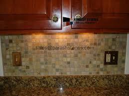 quartzite kitchen backsplash