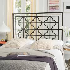 Safavieh Lucina Gunmetal Queen Headboard