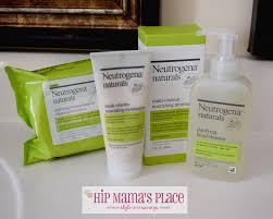neutrogena naturals pure and natural skincare line