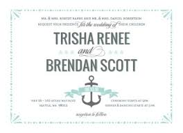 elegant wedding invitations, invitation wording examples, & etiquette Elegant Wedding Invitation Quotes mint pastel nautical beach wedding invitation by weddingpaperie com elegant formal wedding invitation wording