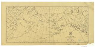 Alaska Nautical Charts Alaska And Adjoining Region 1873 Nautical Chart 13 728 432 Scale Alaska Sailing Chart 960