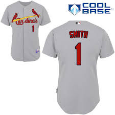 N Louis St Smith Mlb Jerseys 1985 Cardinals M 1 Red