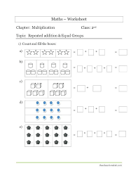 Multiplication Repeated Addition Free Printable Worksheets As ...