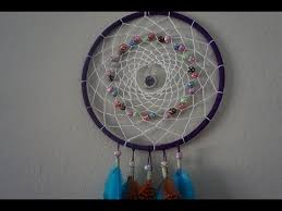 How To Make An Indian Dream Catcher Mesmerizing How To Make A Beautiful Dreamcatcher YouTube