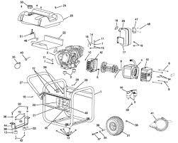 husky hu40500 5 000 watt portable generator parts and accessories husky hu40500