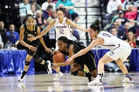 women s basketball uconn takes down ucf to reach american athletic conference chionship game the daily cus