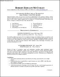 Best Mechanics Resume Contemporary Simple Resume Office