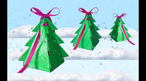 Paper Crafts For Christmas Diy Crafts How To Make Christmas Box Tree Diy Project Paper