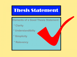 good thesis statement x png