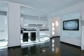 modern interior design at futuristic apartment futuristic modern interior design22 design