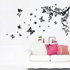 >wall art stickers home decor ebay flower wall art stickers