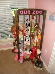 zoo great idea for stuffed animal storage