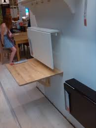 ikea wall mounted folding desk fold down table for kitchen 8x12 or