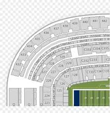 Seat Number Michigan Stadium Seat Map Png Image With