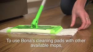 bona hardwood floor wet cleaning pads