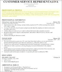 Profiles On Resumes Resume Writing Objectives Summaries Or Professional Profiles
