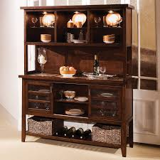 Corner Kitchen Hutch Furniture Kitchen Buffet Cabinet Transitional Buffets And Sideboards