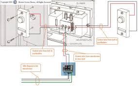 dual doorbell wiring diagram dual image wiring diagram doorbell wiring diagram 2 bells jodebal com on dual doorbell wiring diagram