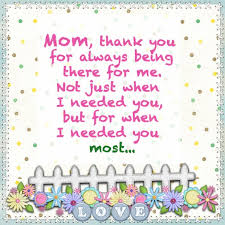 Thank You Mom Quotes New Mothers Day 48 Happy Mothers Day Quotes