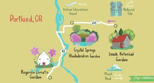 Portland Or Design Visit Portlands Hidden Gardens Self Guided Day Trip