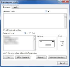 Printing Envelopes And Labels Part 1 Envelopes Legal