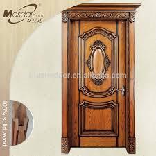 kerala style teak wood single main door flower designs china tps 145 kerala house main door design single steel doors