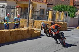super motard racing editorial image image of fencing 95515280