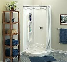 curved double shower curtain rod custom shower curtain rods amazing curved double rod bathroom inside 7
