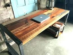 reclaimed wood desk diy reclaimed wood computer desk desks photo 1 of best ideas on natural reclaimed wood desk diy