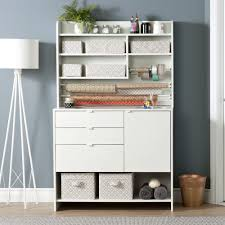 South Shore Furniture Crea Craft Storage Cabinet with Hutch