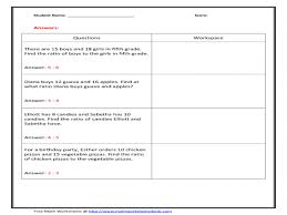 7th Grade Math Worksheets Ratios And Proportions | Newgomemphis