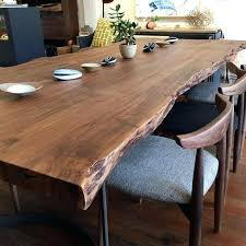 appealing living edge dining table live natural wood in chair uk oz design canada walnut round