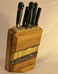 Diy Knife Block Universal Knife Block Design Martin 6 Steps With Home  Improvement Homemade Magnetic Knife