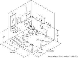 Ada Commercial Bathroom Set