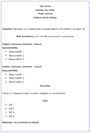 Resume Writing Format Mesmerizing Chronological Format Of Resume Writing