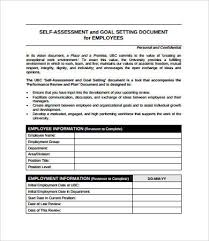 Employee Self Assessment Enchanting Employee Assessment 48 Free PDF Word Documents Download Free