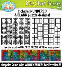 Hundreds Chart Puzzles Worksheets Teaching Resources Tpt