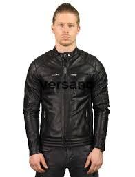 home gentlemen men s leather jackets leather bikerjacks men