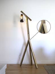 view in gallery to make a rustic floor lamp