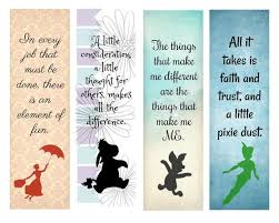 Design Bookmarks Disney Bookmarks Set Of 8 4 Different Designs Avid Reader Gift Disney Fan Party Favor
