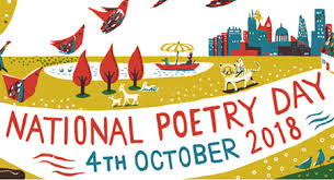 Image result for national poetry day 2018 logo